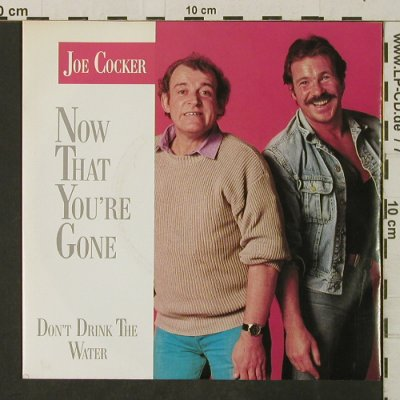 Cocker,Joe: Now That You're Gone, Capitol(20 1563 7), D, 1986 - 7inch - T3225 - 2,00 Euro