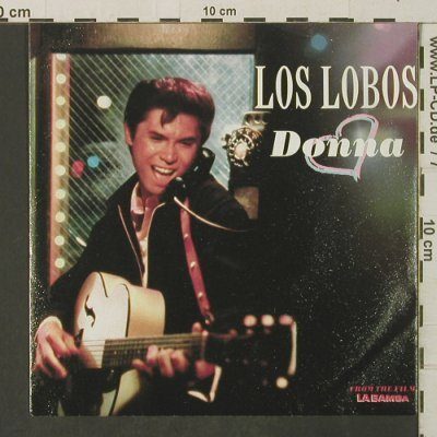 Los Lobos: Donna / Framed, Metronome(886 239-7), D, 1987 - 7inch - T3226 - 2,50 Euro
