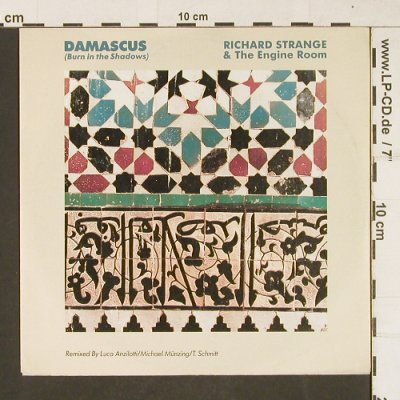 Strange,Richard & The Engine Room: Damascus(Burmn in the Shadows), Ariola(109 304-100), D, 1987 - 7inch - T325 - 3,00 Euro