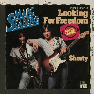 Seaberg,Marc: Looking For Freedom / Shorty, Ariola(15 787), D,  - 7inch - T3269 - 1,50 Euro