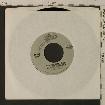 Tremeloes: Silence Is Golden/Here ComesMyBaby, Epic, LC(15-2265), US, Ri,  - 7inch - T3323 - 2,50 Euro
