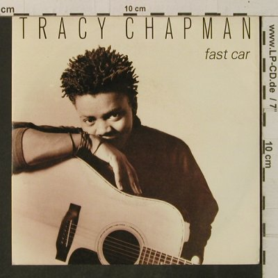 Chapman,Tracy: Fast Car / For You, Elektra(969 412-7), D, 1988 - 7inch - T3341 - 3,00 Euro