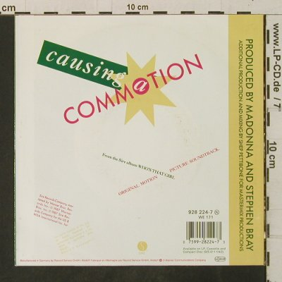 Madonna: Causing A Commotion/Jimmy, Jimmy, Sire(928 224-7), D, 1987 - 7inch - T3357 - 3,00 Euro
