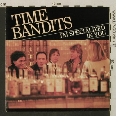 Time Bandits: I'm Specialized In You/Ginny, CBS(A 2915), NL, 1982 - 7inch - T3400 - 2,00 Euro