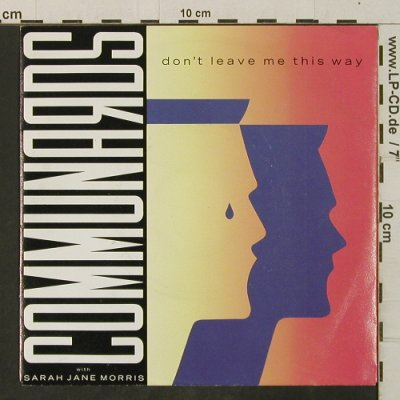 Communards: Don't Leave Me This WaySanctified, Metronome(886 077-7), D, 1986 - 7inch - T3401 - 2,00 Euro