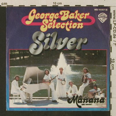 Baker Selection,George: Silver, WB(16 857 N), D, 1976 - 7inch - T3410 - 2,00 Euro