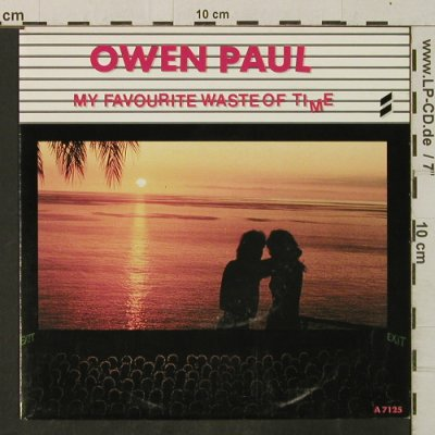 Paul,Owen: My Favorite Waste Of Time/Just Anot, CBS(A 7125), NL, 1986 - 7inch - T3419 - 2,50 Euro