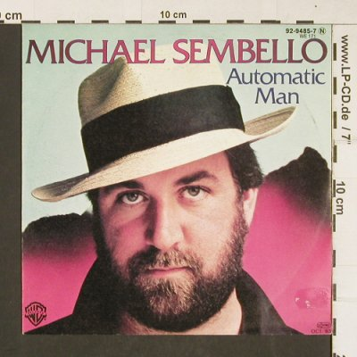 Sembello,Michael: Automatic Man / Summer Lovers, WB(92-9485-7), D, 1983 - 7inch - T343 - 1,50 Euro