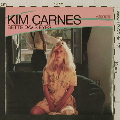 Carnes,Kim: Bette Davis Eyes/Miss You Tonite, EMI(006-86 359), D, 1981 - 7inch - T3465 - 2,50 Euro