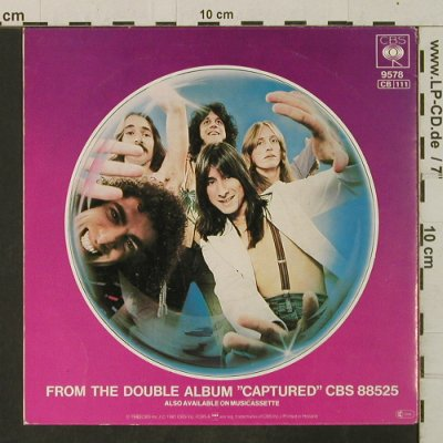 Journey: The Party Is Over/Wheel In The Sky, CBS(9578), NL, Live, 1981 - 7inch - T3466 - 3,00 Euro