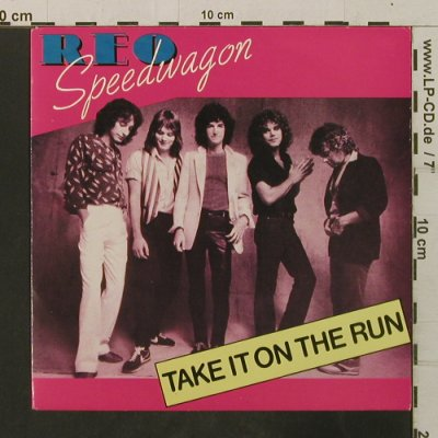 Reo Speedwagon: Take It On The Run/Someone Tonight, Epic(A 1207), NL, 1980 - 7inch - T3473 - 2,00 Euro