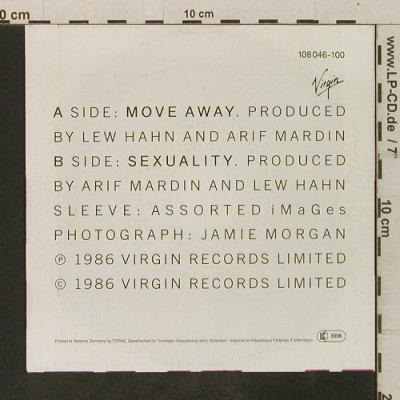 Culture Club: Move Away/Sexuality, Virgin(108 046-100), D, 1986 - 7inch - T3480 - 2,00 Euro