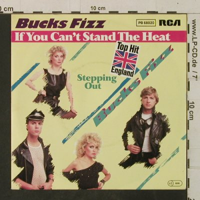 Bucks Fizz: If You Can't Stand The Heat/Steppin, RCA(PB 68020), D, 1982 - 7inch - T3518 - 2,00 Euro