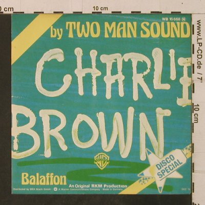 Two Man Sound: Charlie Brown / Balaffon, WB(16 668), D, 1975 - 7inch - T3522 - 3,00 Euro