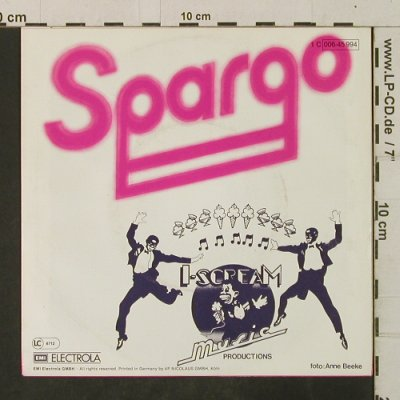 Spargo: You And Me / Worry, Papagayo(006-45 994), D, 1980 - 7inch - T3526 - 2,00 Euro