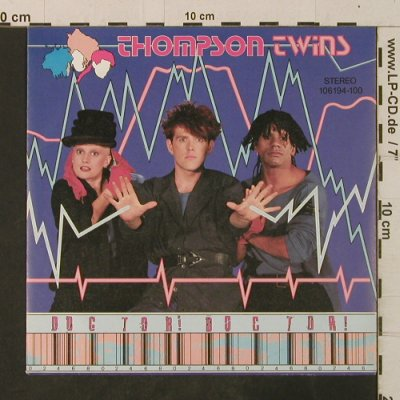 Thompson Twins: Doctor! Doctor! / Nurse Shark, Ariola(106 194-100), D, 1984 - 7inch - T3541 - 2,00 Euro