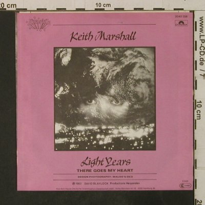 Marshall,Keith: Light Years / There Goes My Heart, Polydor(2040 358), D, 1982 - 7inch - T3556 - 2,00 Euro