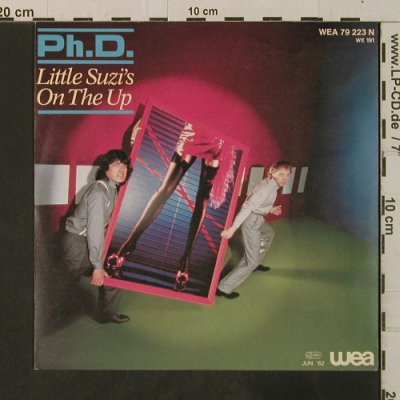 Ph.D.: Little Suzi's On The Up/I'm Gonna T, WEA(79 223 N), D, 1981 - 7inch - T3563 - 2,50 Euro