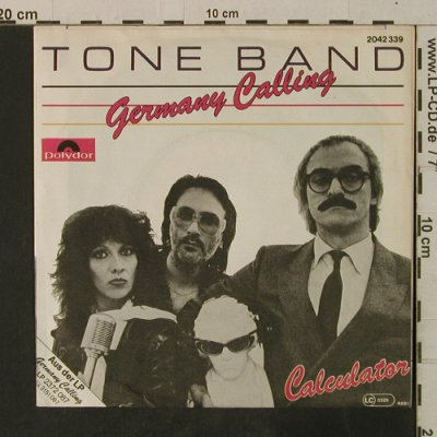Tone Band: Germany Calling / Calculator, Polydor(2042 339), D, 1981 - 7inch - T3591 - 2,00 Euro