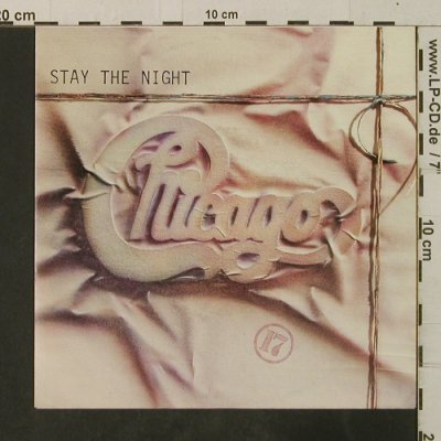 Chicago: Stay The Night / Only You, WB(929 306-7), D, 1984 - 7inch - T3702 - 2,50 Euro