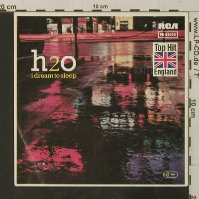 H2O: I Dream To Sleep / Burn To Win, RCA(PB 68048), D,redVinyl, 1983 - 7inch - T3708 - 2,50 Euro