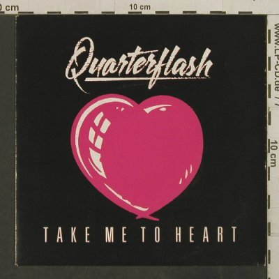 Quarterflash: Take Me To Heart/Nowhere Left To Hi, Geffen(A-3512), NL, 1983 - 7inch - T3790 - 2,50 Euro