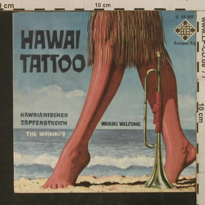 Waikikis: Waikiki Welcome/Hawaii Tattoo, Telefunken(U 55 507), D(cover),  - Cover - T3812 - 1,00 Euro