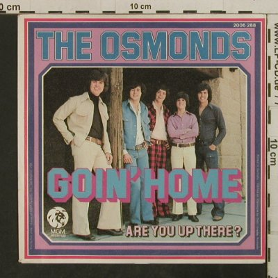 Osmonds: Goin'Home, MGM(2006 288), D, 1973 - 7inch - T3825 - 2,50 Euro