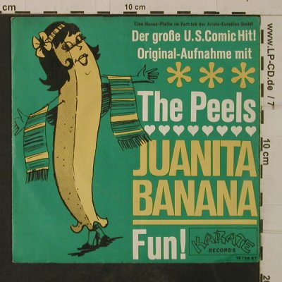 Peels: Juanita Banana / Fun!, Karate Rec.(18 798 AT), D,  - 7inch - T3857 - 3,00 Euro
