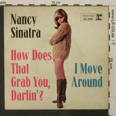 Sinatra,Nancy: How Does That Grab You, Darling'?, Reprise,vg+(RA 3098), D,NurHülle,  - Cover - T3867 - 2,00 Euro