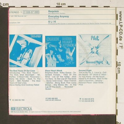 Slik: Requiem / Everyday Anyway, EMI(C 006-97 699), D, 1976 - 7inch - T387 - 3,00 Euro