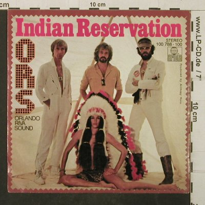 Orlando Riva Sound-O.R.S.: Indian Reservation/We're are not..., Ariola(100 788-100), D, 1979 - 7inch - T3938 - 2,50 Euro