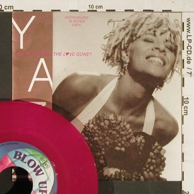 Yazz: Where Has All The Love Gone, Blow Up(INT 110.787), D,redVinyl, 1989 - 7inch - T397 - 3,00 Euro