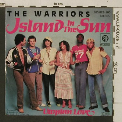 Warriors: Island in the sun,, vg+/m-, PYE(100 872-100), D, 1979 - 7inch - T4033 - 2,50 Euro