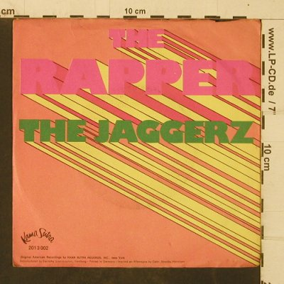 Jaggers: The Rapper, VG+/VG+, Kama Sutra(2013 002), D, 1970 - 7inch - T4034 - 5,00 Euro