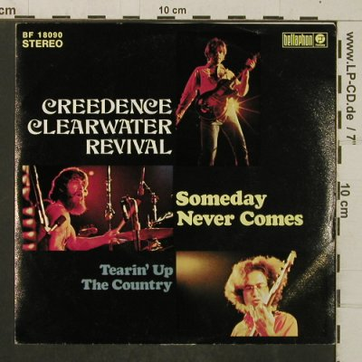 CCR: Someday Never Comes/Tearing Up..., Bellaphon(BF 18090), D, m-/vg+,  - 7inch - T4066 - 3,00 Euro