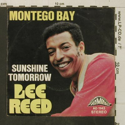 Reed,Lee: Montego Bay/Sunshine Tomorrow, Admiral(AD 1143), D,vg+/vg+,  - 7inch - T4076 - 2,50 Euro