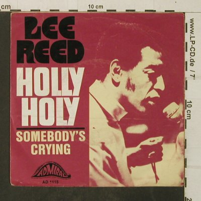 Reed,Lee: Holly Holy, vg-/vg+, Admiral(AD 1115), D,  - 7inch - T4077 - 2,00 Euro
