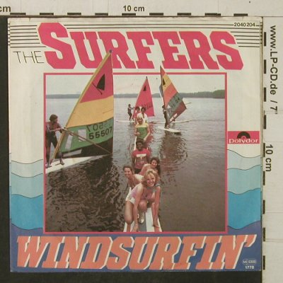 Surfers: Windsurfin' / Nite At The Beach, Polydor(2040 204), D, vg+/m-, 1978 - 7inch - T4088 - 2,50 Euro