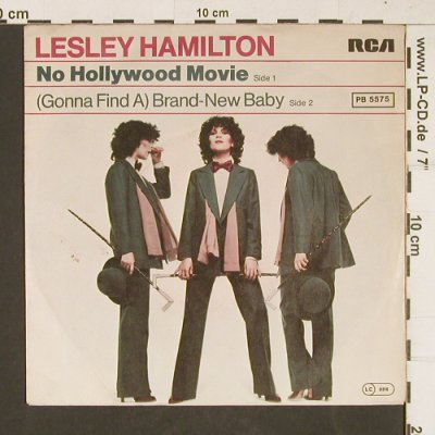 Hamilton,Lesley: No Hollywood Movie, RCA(PB 5575), D, 1978 - 7inch - T409 - 2,50 Euro