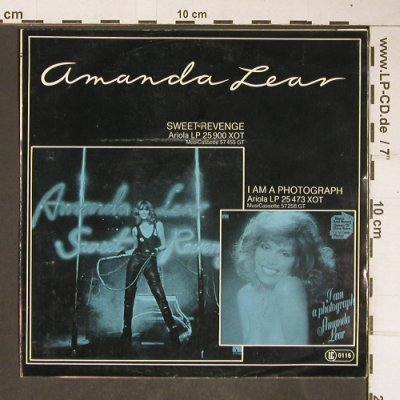 Lear,Amanda: The Sphinx/Hollywood Flashback, Ariola(100 037-100), D, 1978 - 7inch - T4189 - 3,00 Euro