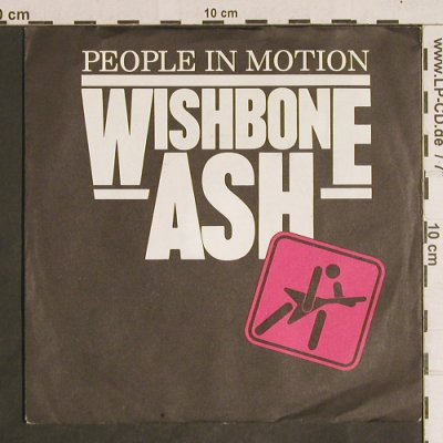 Wishbone Ash: People in Motion, Metronome(881 511-7 ME), D, 1984 - 7inch - T4337 - 3,00 Euro