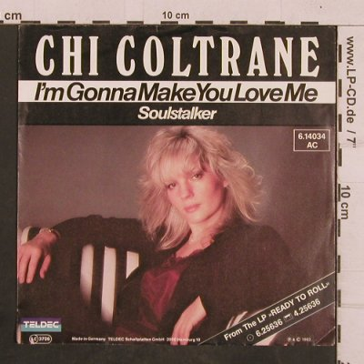 Coltrane,Chi: I'm gonna make you love me, Teldec(6.14034), D, 1988 - 7inch - T4344 - 2,50 Euro