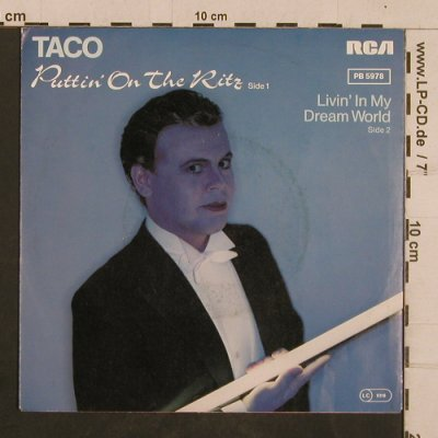 Taco: Puttin' On The Ritz/Livin'In My Der, RCA(PB 5978), D, 1982 - 7inch - T4357 - 2,00 Euro