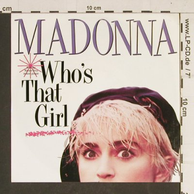 Madonna: Who's That Girl, Sire(928 341-7), D, 1987 - 7inch - T440 - 3,00 Euro