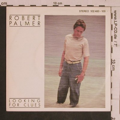 Palmer,Robert: Looking For Clues/What Do You Care, Island(102 483-100), D, 1980 - 7inch - T4413 - 2,50 Euro