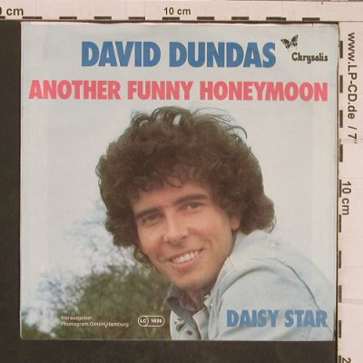 Dundas,David: Another Funny Honeymoon, Chrysalis(6155 080), D, 1977 - 7inch - T4494 - 2,50 Euro