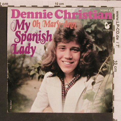 Christian,Dennie: My Spanish Lady, m-/vg+, Hansa(16 846 AT), D,  - 7inch - T4495 - 2,50 Euro