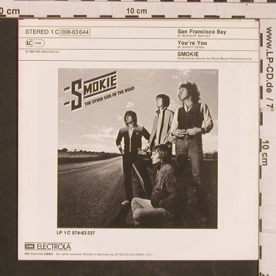 Smokie: San Francisco Bay / You're You, RAK(008-63 644), D, 1980 - 7inch - T4512 - 2,50 Euro