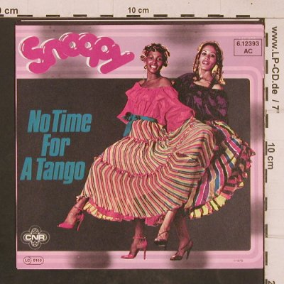 Snoopy: No Time for A Tango / Snoopy Reggae, CNR(6.12393 AC), D, 1978 - 7inch - T4527 - 2,50 Euro